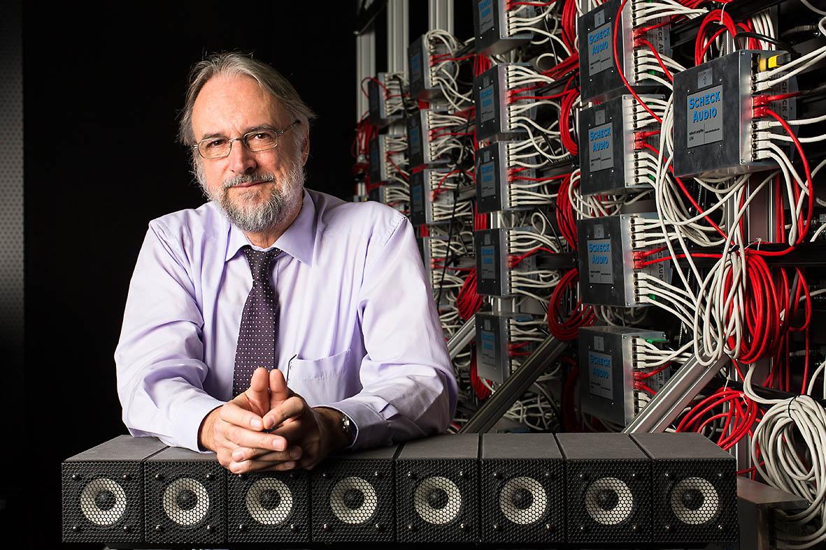 Professor Karlheinz Brandenburg, Miterfinder des MP 3 Audioformats, Fraunhofer Institut Ilmenau