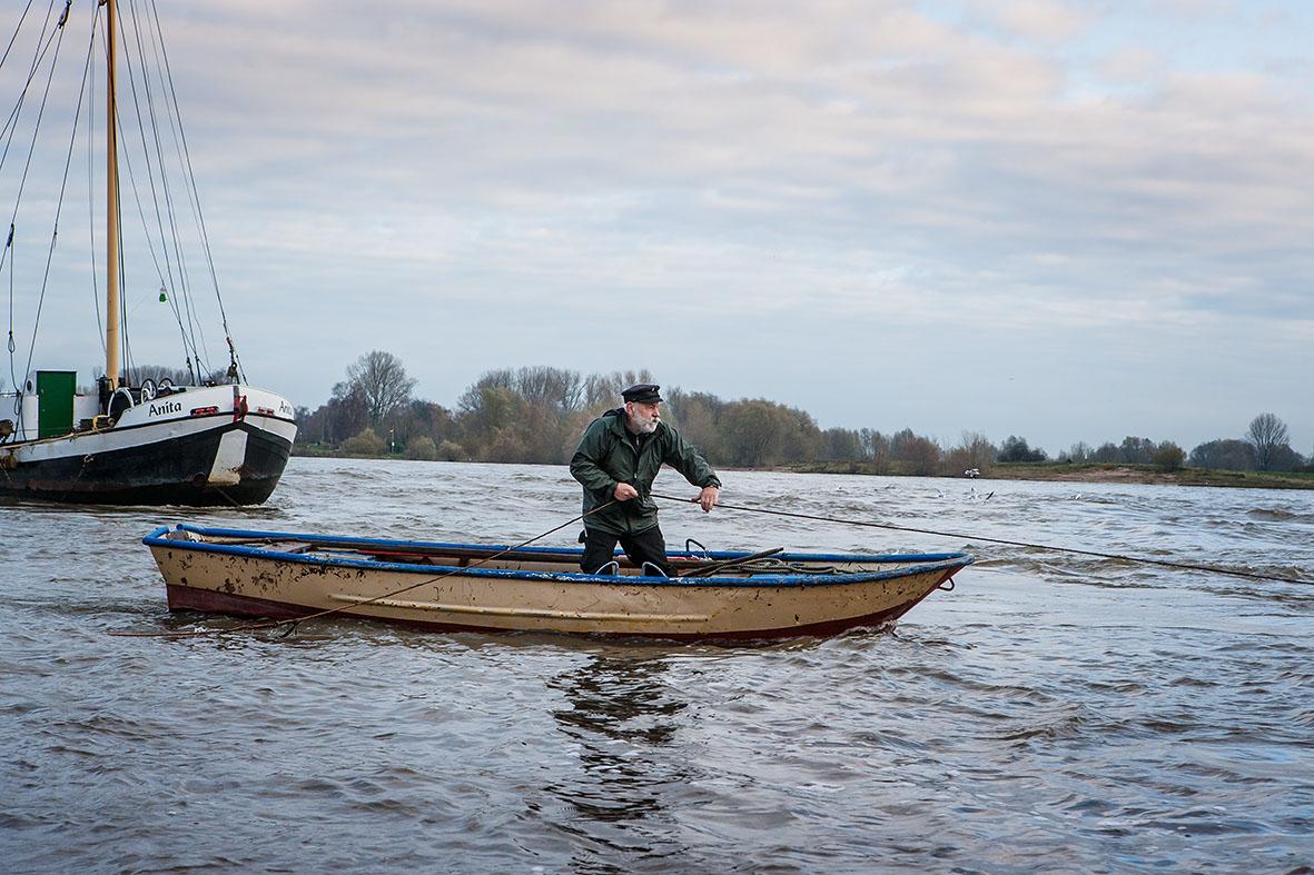 Binnenfischer am Niederrhein