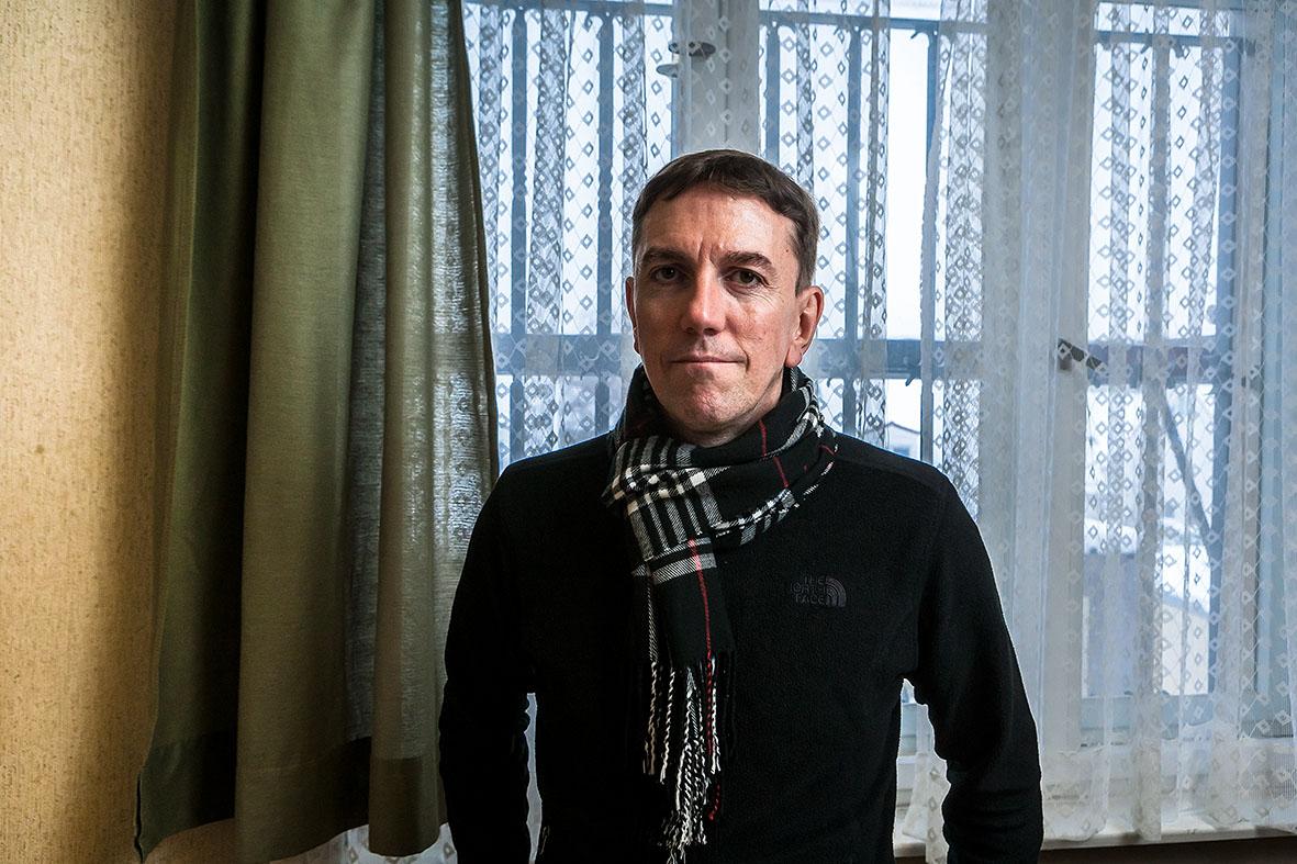 Mario Röllig, ehemaliger Häftling im Stasi-Gefängnis Berlin Hohenschönhausen
