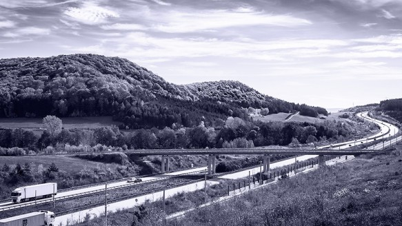 A 71 / Landschaft / Reportage